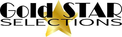 gold star selections logo design