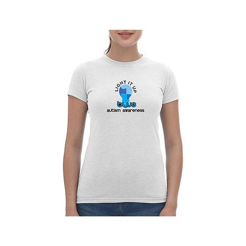 Light It Up Blue Tee - Ladies