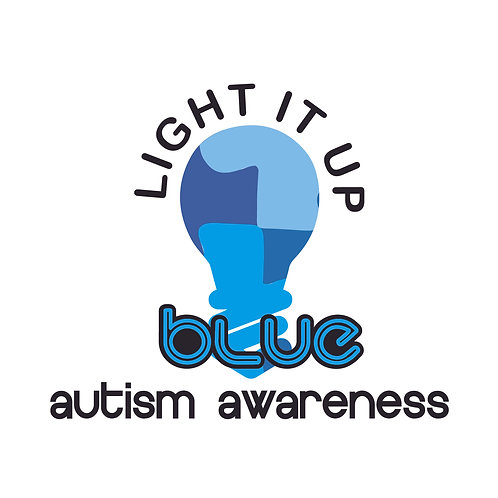DECAL - Light It Up Blue