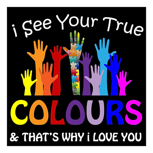 DECAL - I See Your True Colours