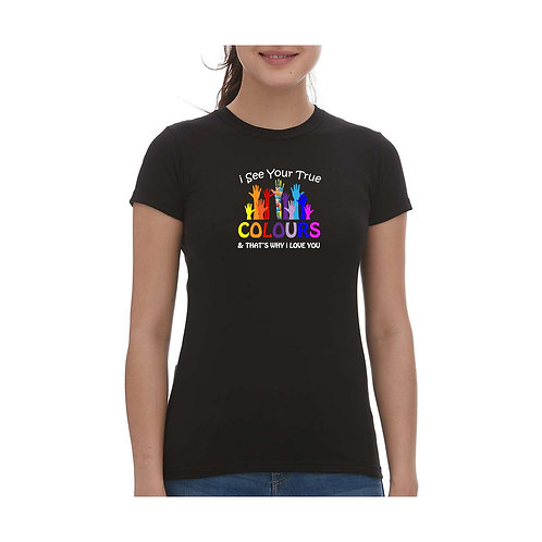 I See Your True Colors Tee - Ladies
