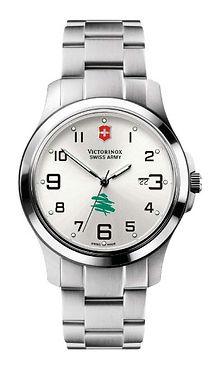 custom print logo victorinox swiss army watch