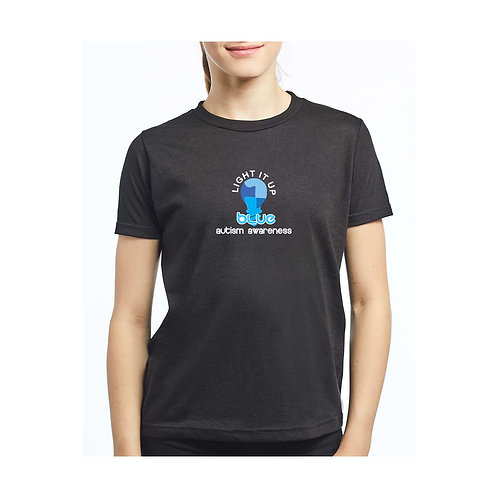 Light It Up Blue Tee - Youth