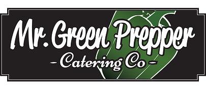 mr.green prepper catering company logo design