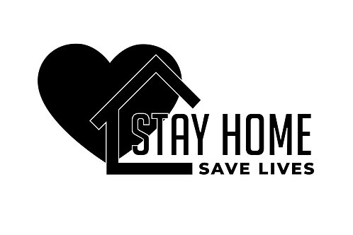 DECAL - Stay Home, Save Lives