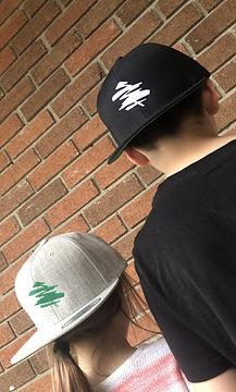logo embroidered flexfit wool snapback cap