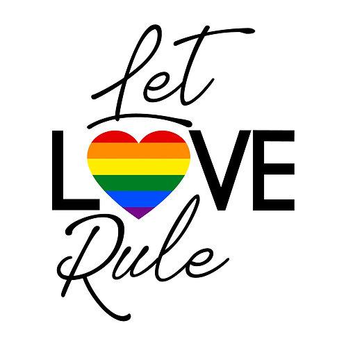 DECAL - Let Love Rule