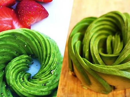 VIDEO: How To Make An Avocado Rose