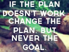 Plans vs. Goals