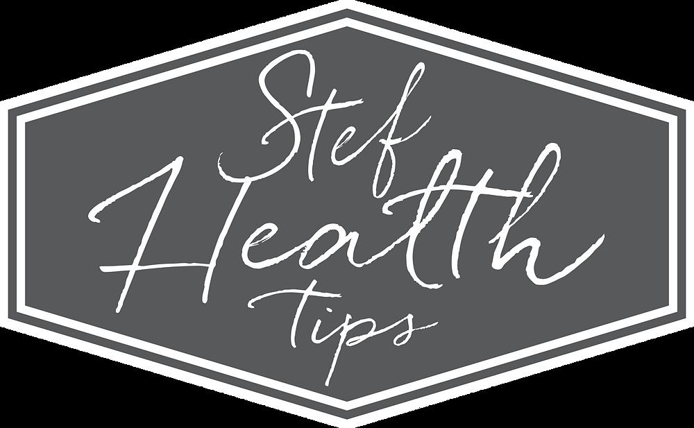 Stef Health Tips Logo