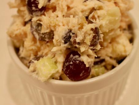 Greek Yogurt Waldorf Chicken Salad