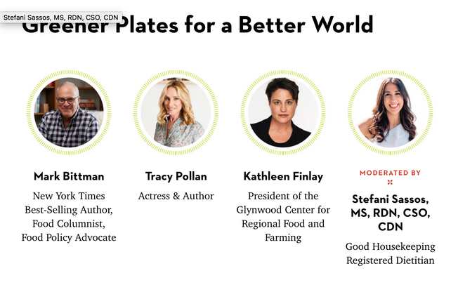 Greener Plates for a Better World