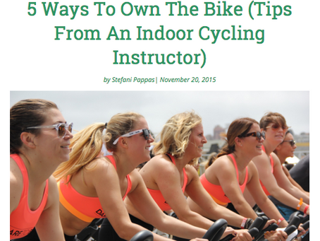 TKTW: 5 Ways To Own The Bike (Tips From An Indoor Cycling Instructor)