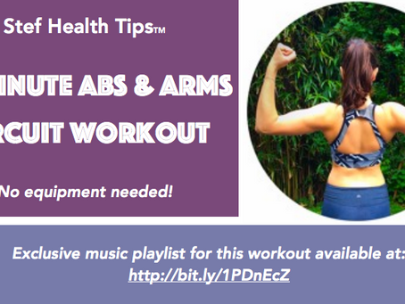 30-Minute Arms & Abs Circuit