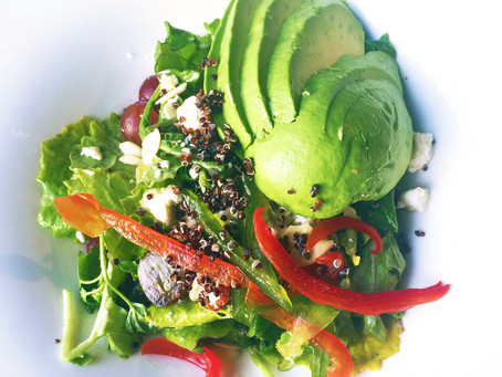 Summer Kale & Quinoa Salad Recipe