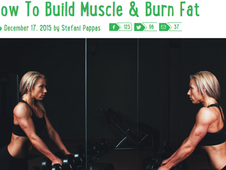 VIVOGREENS: How To Build Muscle & Burn Fat
