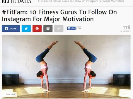 ELITE DAILY: #FitFam 10 Fitness Gurus To Follow On Instagram For Major Motivation