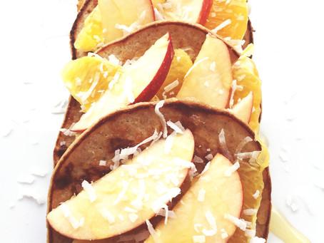 Flourless Winter Pancakes Recipe