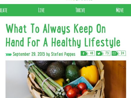VIVOGREENS: What To Always Keep On Hand For A Healthy Lifestyle