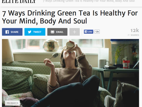ELITE DAILY: 7 Ways Drinking Green Tea Is Healthy For Your Mind, Body And Soul