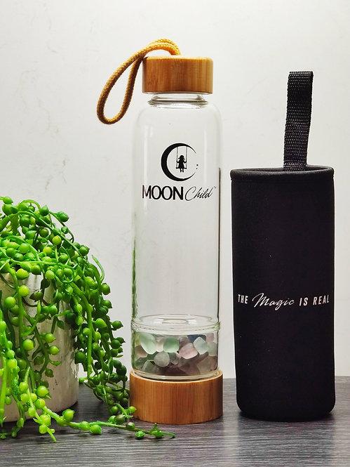 Crystal Elixir Drinking Bottle FLUORITE