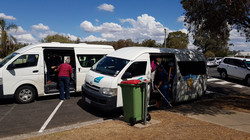 Bus arrivals
