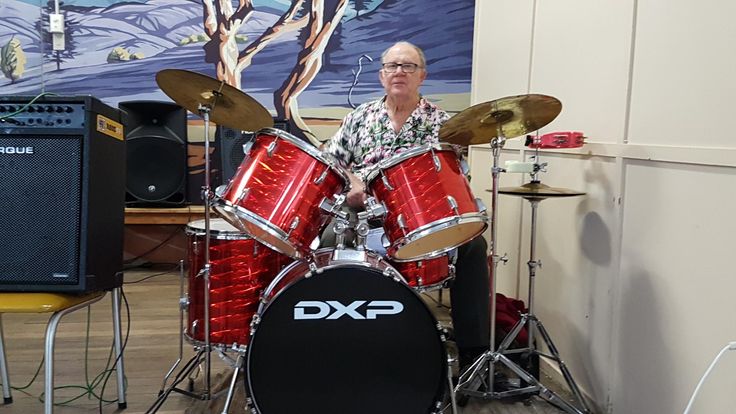 Evening Drummer