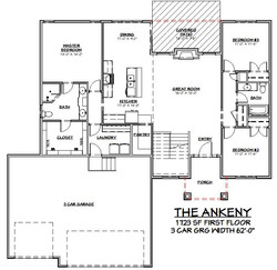 The Ankeny First Floor Plan