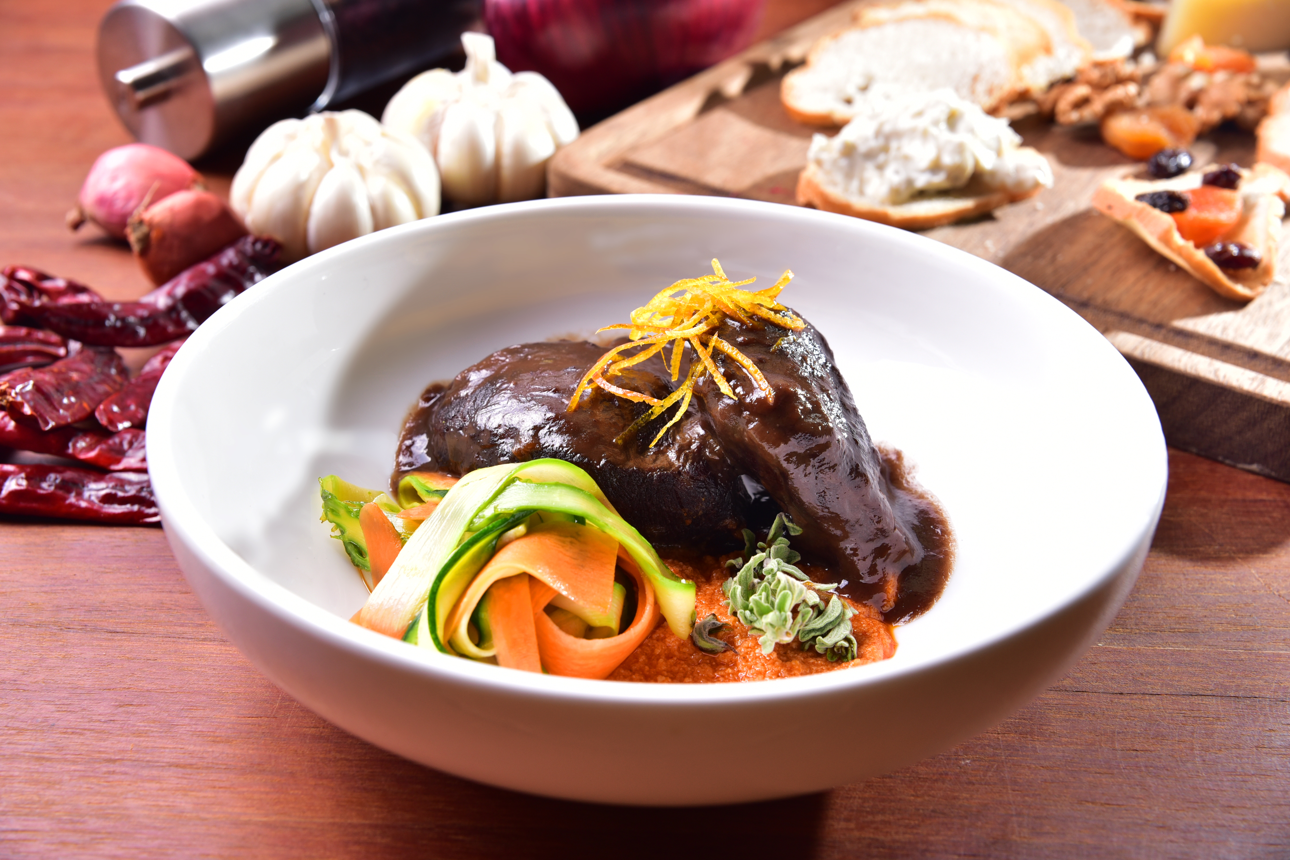 Slow Cooked Pork Cheeks