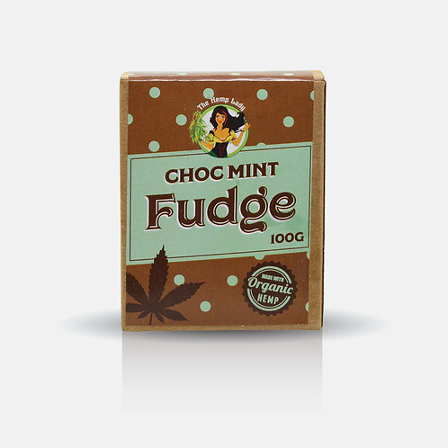 Choc Mint Hemp Fudge 100g