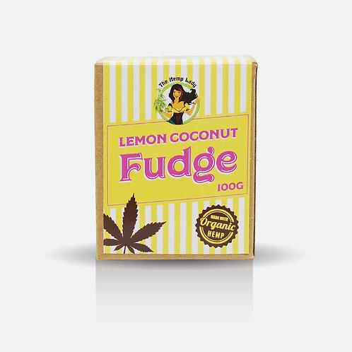 Lemon Coconut Hemp Fudge 100g