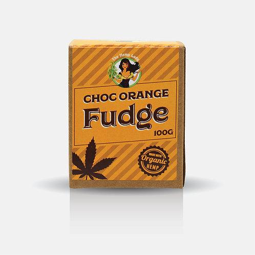 Choc Orange Hemp Fudge 100g