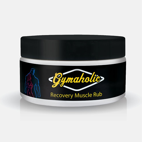 Gymaholic Recovery Muscle Rub 250g