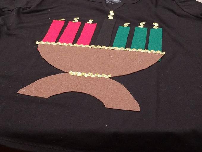 Ugly Kwanzaa Sweater a la Innovation Lab