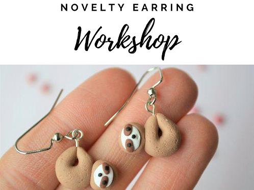 Novelty Earring Workshop