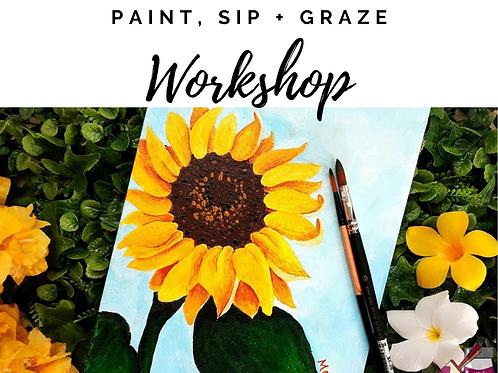 Paint, Sip & Graze