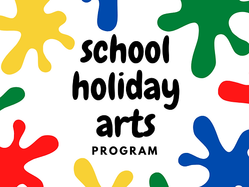 School Holiday Arts Program