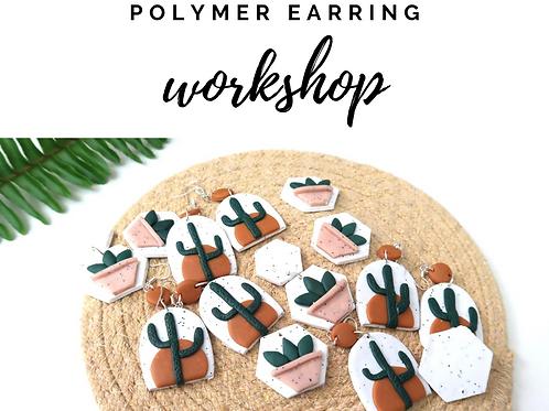 Polymer Earring Workshop