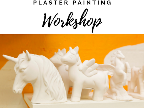 Kids Plaster Painting