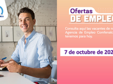 Ofertas de empleo - 7 de octubre de 2021