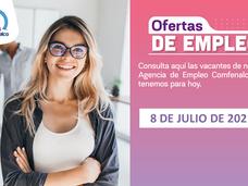 Ofertas de empleo - 8 de julio de 2021
