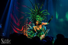 Ruby Colibri at Burlesque Circus by Boud