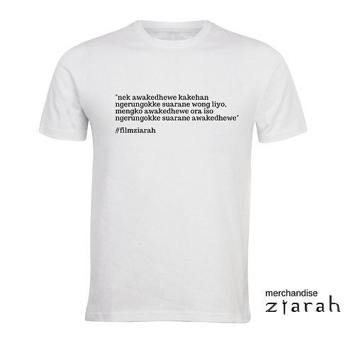 T-shirt Quote Ziarah