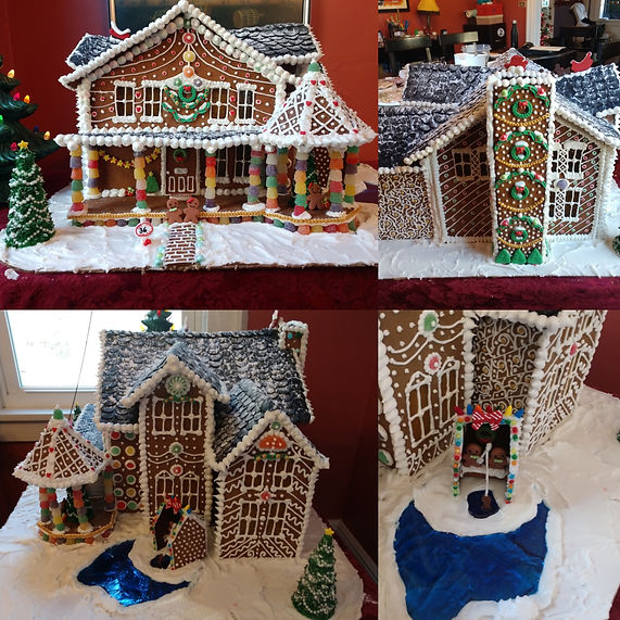 Kate Bartoldus - Waterford Gingerbread House