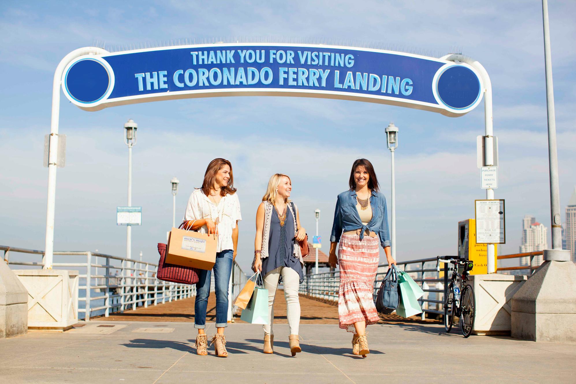 Coronado Ferry Landing Dine Shop Play