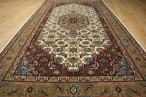 ESTATE 3x5 Circa 2000 Heavy Thick Pile Oriental Hand-knotted Wool Rug 580604