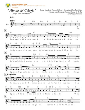 Partitura Himno