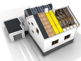 IL FUTURO: Impianto a pavimento e pompa di calore.