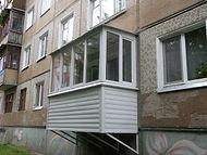 Строительство балконов в Орле
