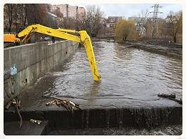 очистка дна без слива воды